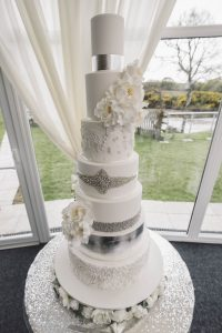 7 Tier wedding cake