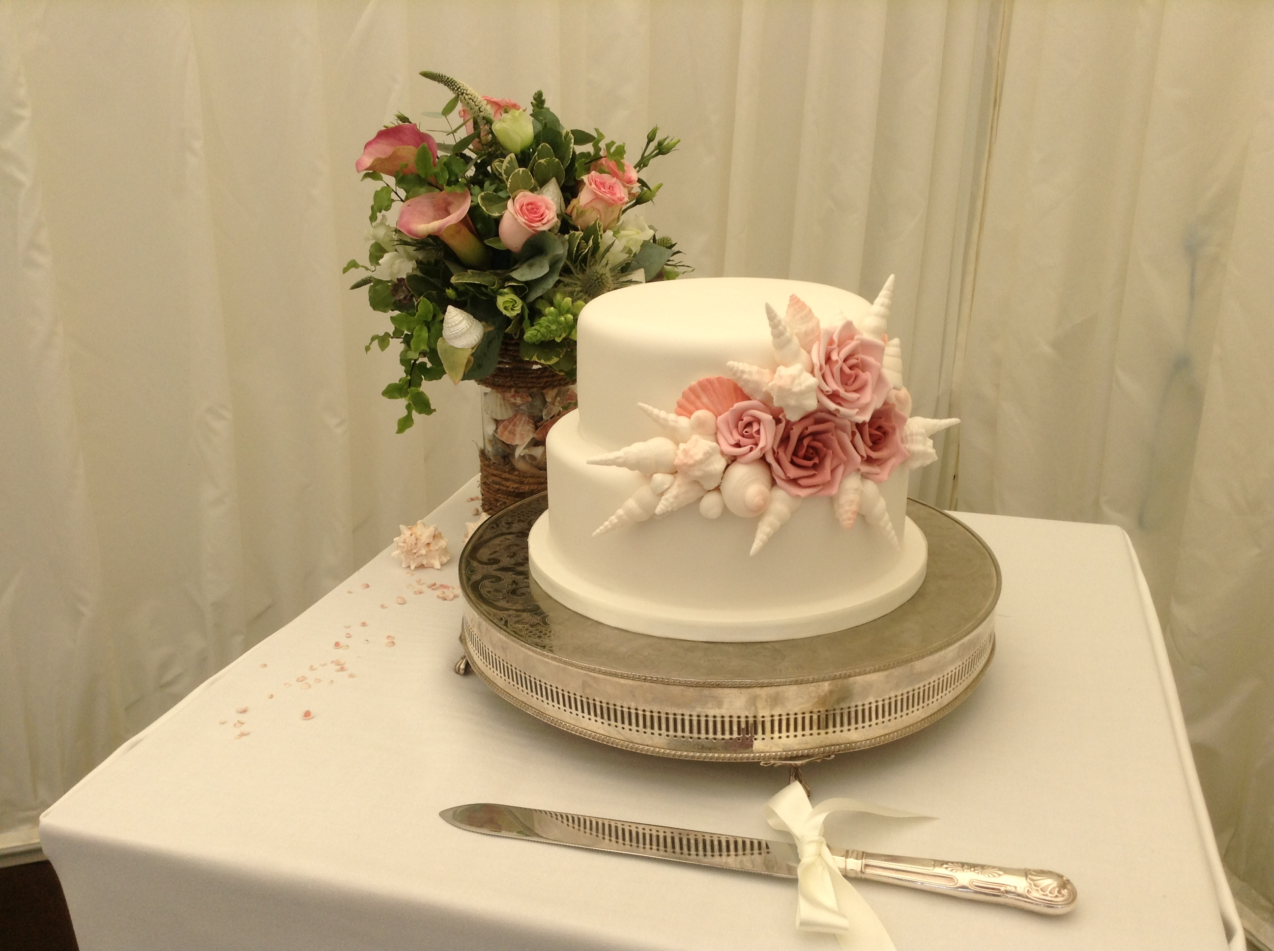 Jane & Colin cake