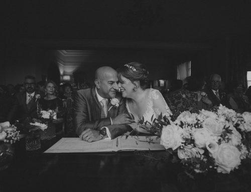 Nicky and Dave's Wedding at Llangoed Hall